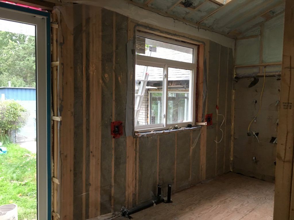 Insulation during Renovation
